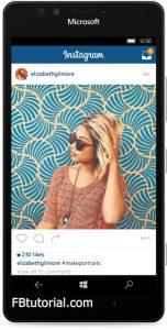 Instagram App for Windows 10 Device