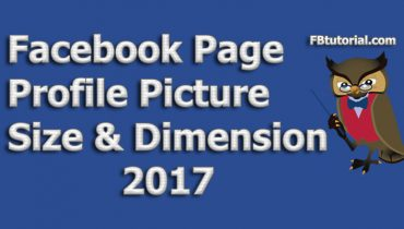 Facebook Page Profile Picture Size & Dimension