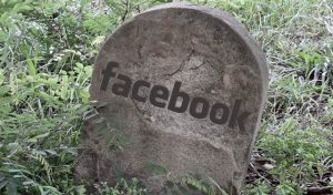 The death of Facebook