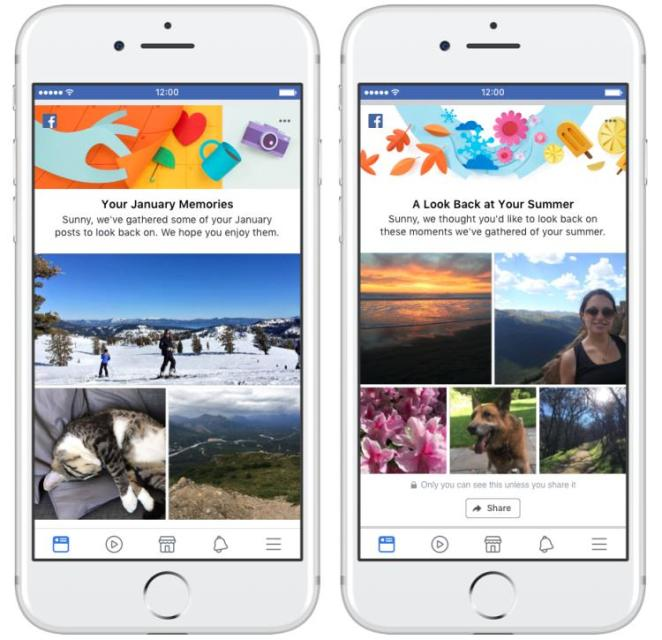 Facebook Memory Recap Story Animation