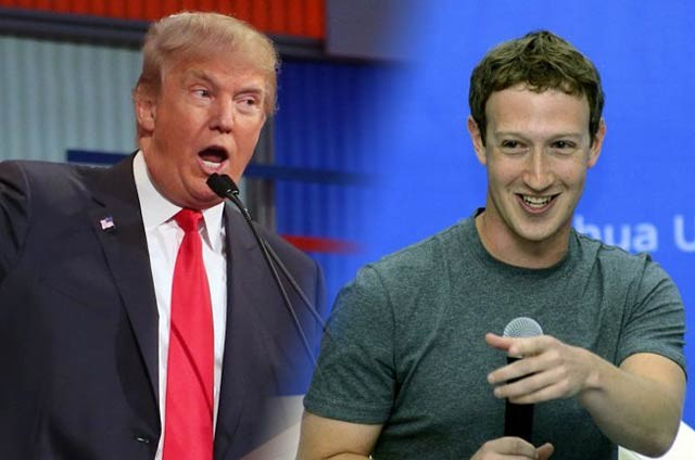 Trump vs Zuckerberg