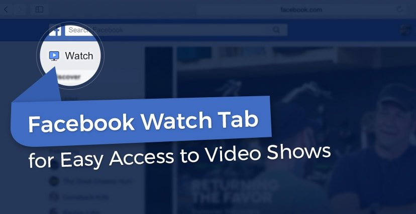 Facebook Watch Tab Homepage
