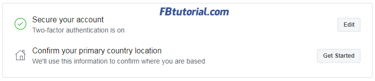 Page publishing authorization location confirm