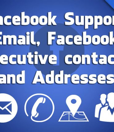 Facebook Support Email Facebook Contacts