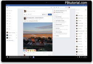 Facebook App for Windows 10 Device