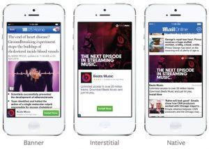 Audience Network by Facebook advertising