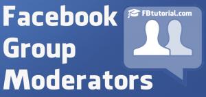 Facebook Groups Moderators
