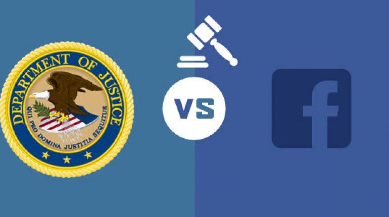 DOJ vs Facebook