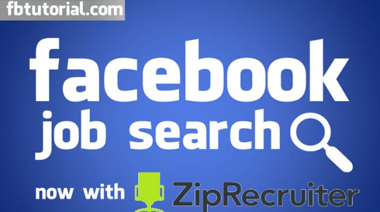 Facebook Job Search ZipRecruiter