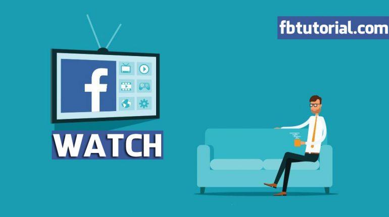 Facebook Watch on TV