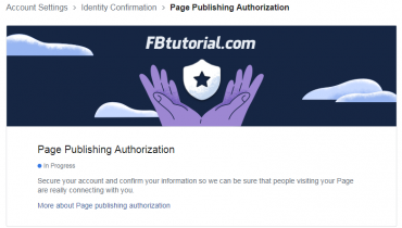 Page Publishing Authorization
